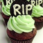 Cookies & Cream Tombstone Cupcakes