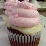 Raspberry Neapolitan Cupcakes