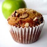 Apple Muffins with Cinnamon Cream Cheese Centers