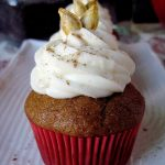 Pumpkin Cupcakes with Eggnog Buttercream
