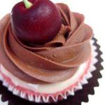 Double Chocolate Cherry Cupcakes