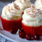 Cranberry White Chocolate Cupcakes