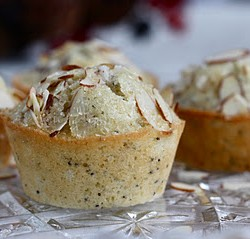 Almond Poppyseed Muffins