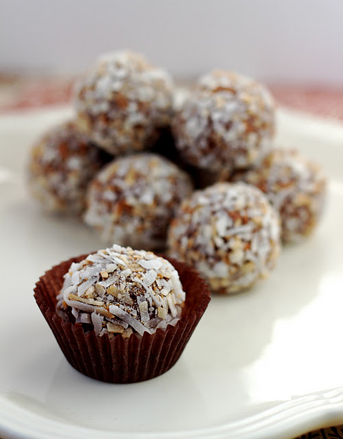 Chocolate Coconut Truffles Your Cup Of Cake