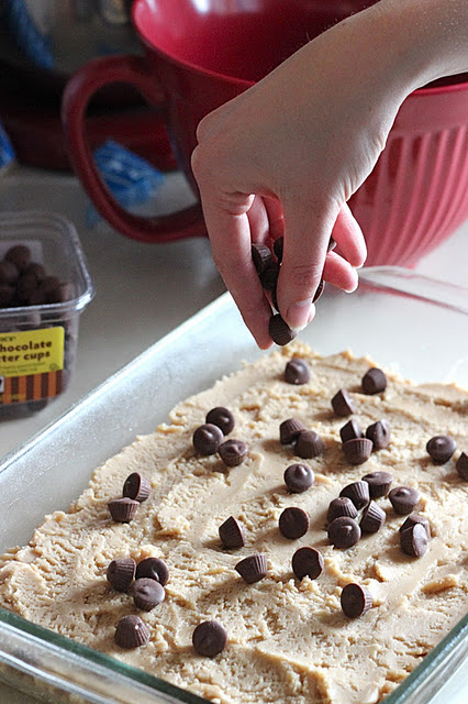 Peanut Butter Chocolate Rice Crispy Treats - Your Cup of Cake