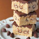 Peanut Butter Chocolate Rice Crispy Treats