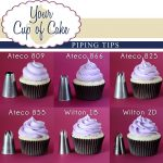 piping tips for cupcakes