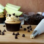 Apple Cookie Dough Cupcakes