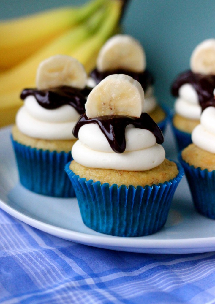 Easy Banana Cupcakes Your Cup Of Cake