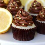 Chocolate Lemon Cupcakes