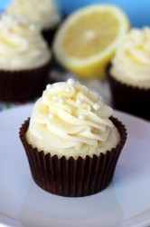 Lemon Cream Cupcake