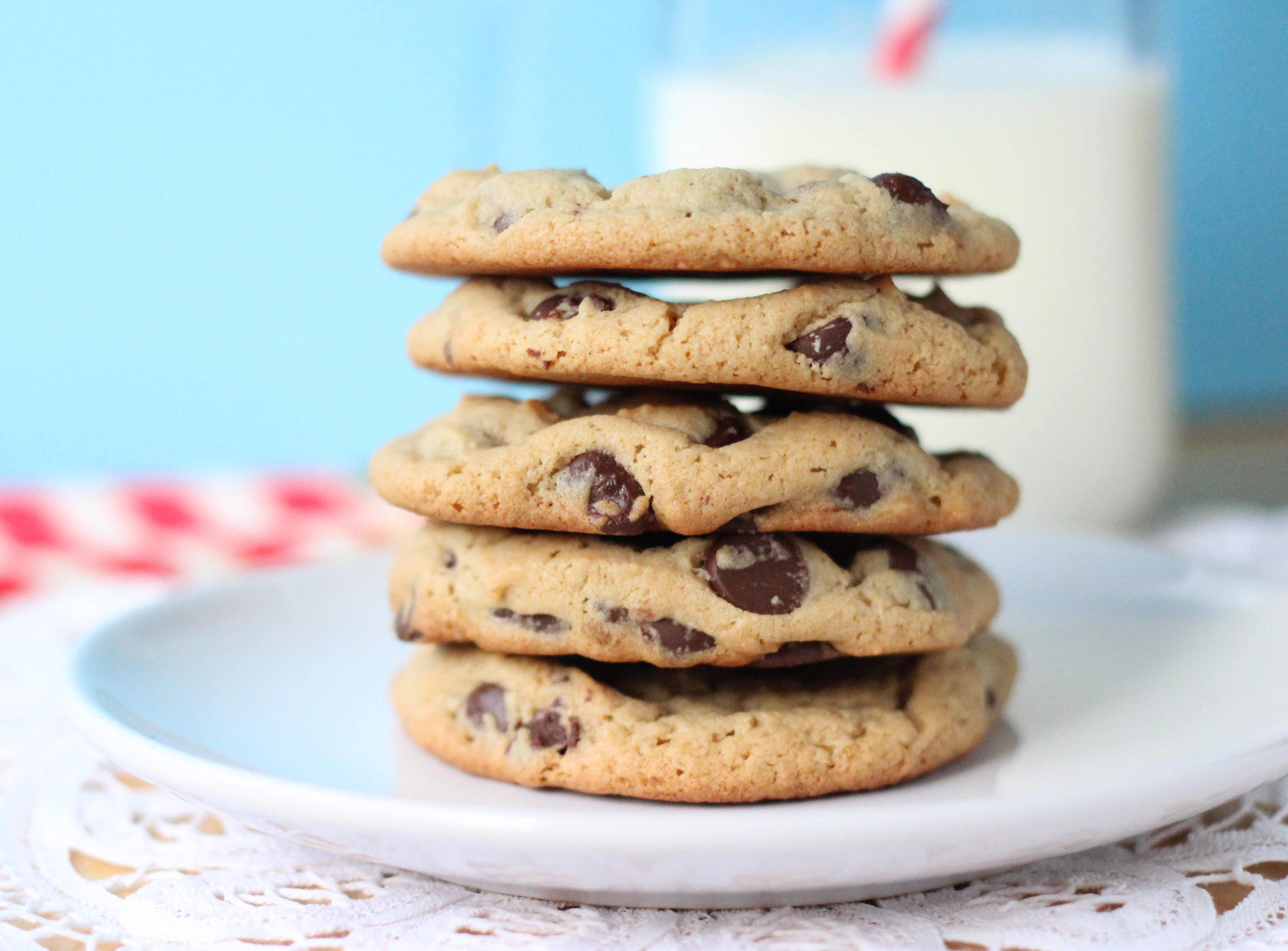 Peanut Butter Chocolate Chip Cookies Your Cup Of Cake