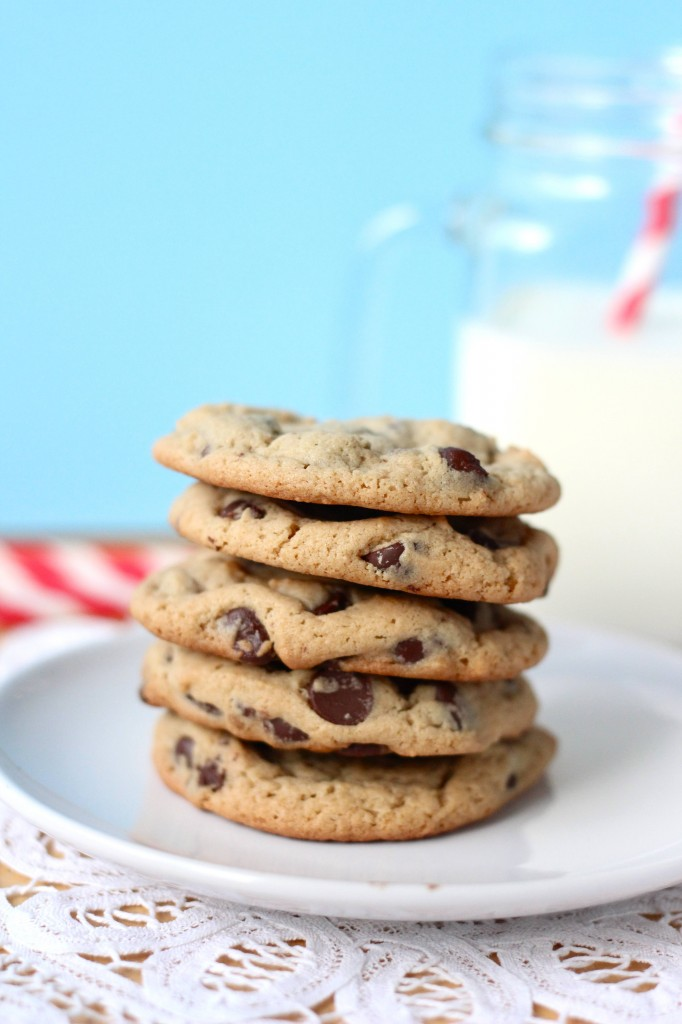 Peanut Butter Chocolate Chip Cookies - Your Cup of Cake