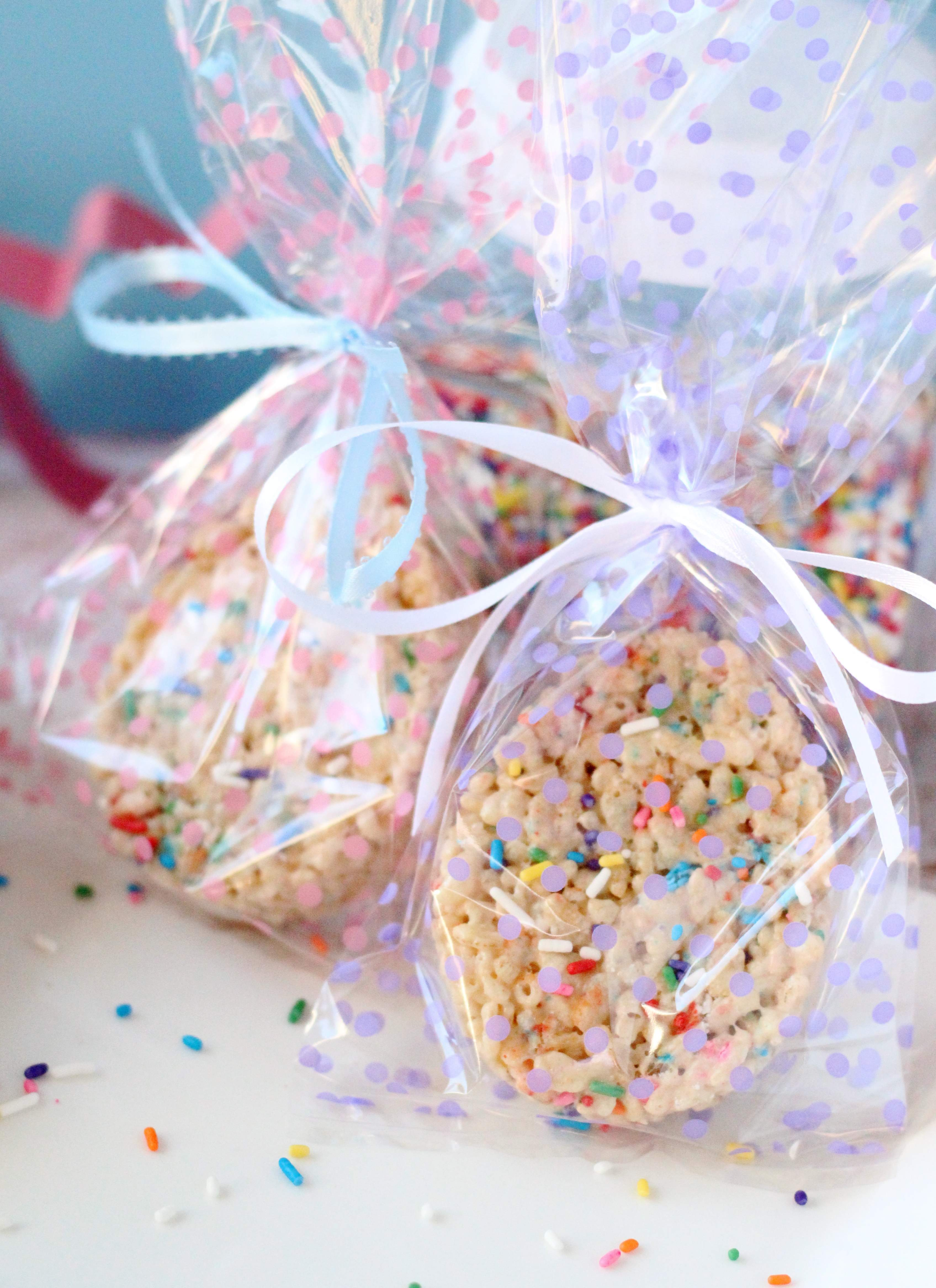 Easter Egg Cake Batter Rice Crispy Treats Your Cup Of Cake