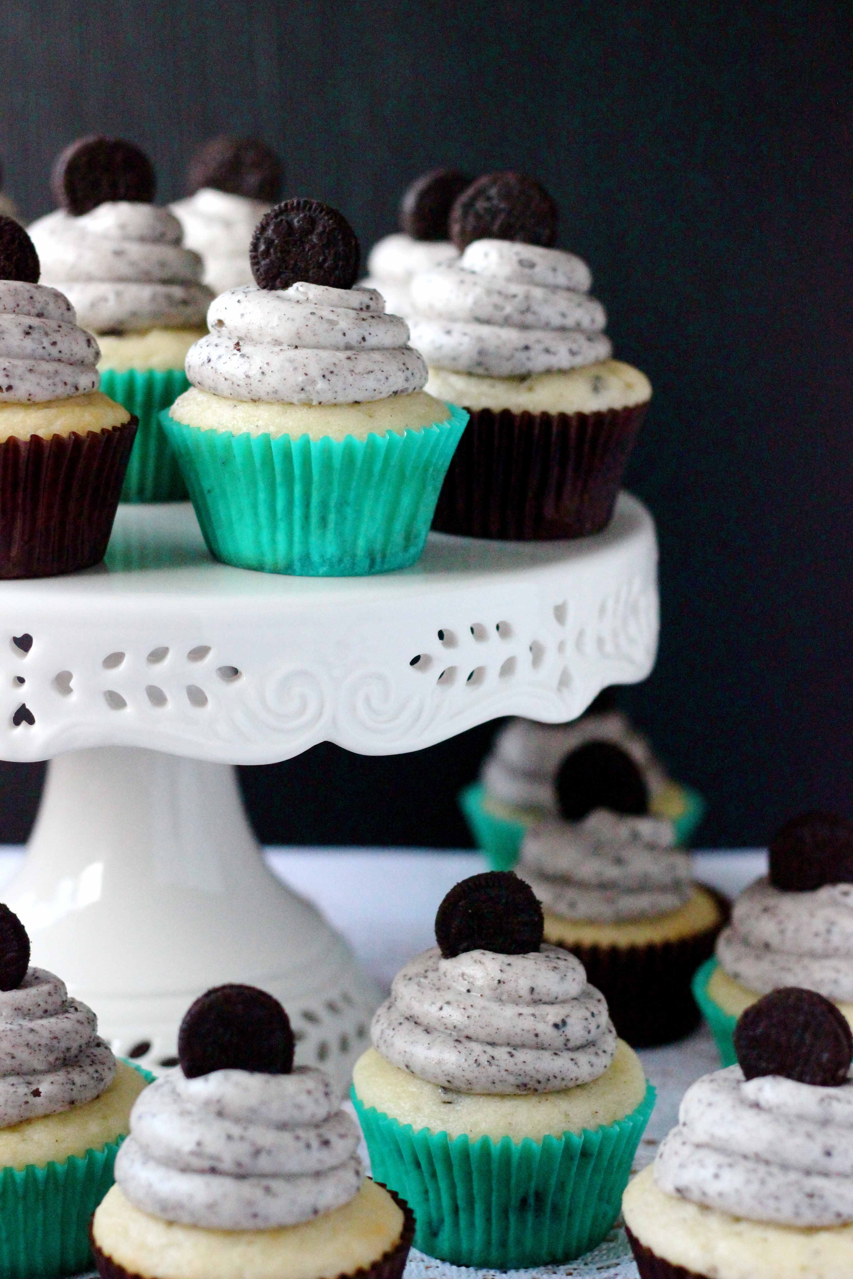 Cookies Cream Cupcakes Your Cup of Cake