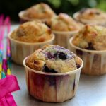 Red, White & Blueberry Muffins