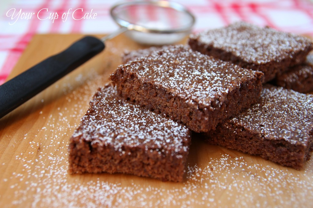 Homemade Brownies - Your Cup of Cake