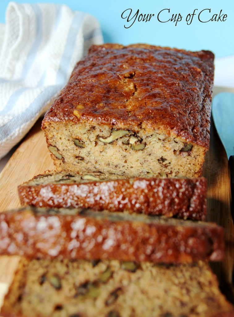 Dark Banana Bread