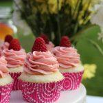 Double Berry Vanilla Cupcakes