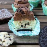 Oreo Brownie Cookie Dough Cupcakes