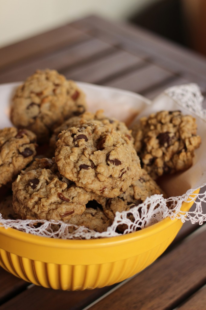 Coconut Oatmeal Chocolate Chip Cookies - Your Cup of Cake
