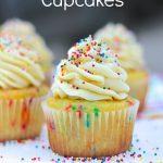Cake Batter Cupcakes