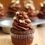 Chocolate Hazelnut Cupcakes