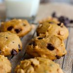 Pumpkin Chocolate & Peanut Butter Chip Cookies