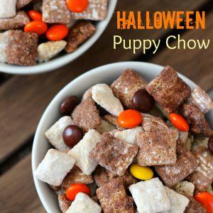 Halloween Puppy Chow