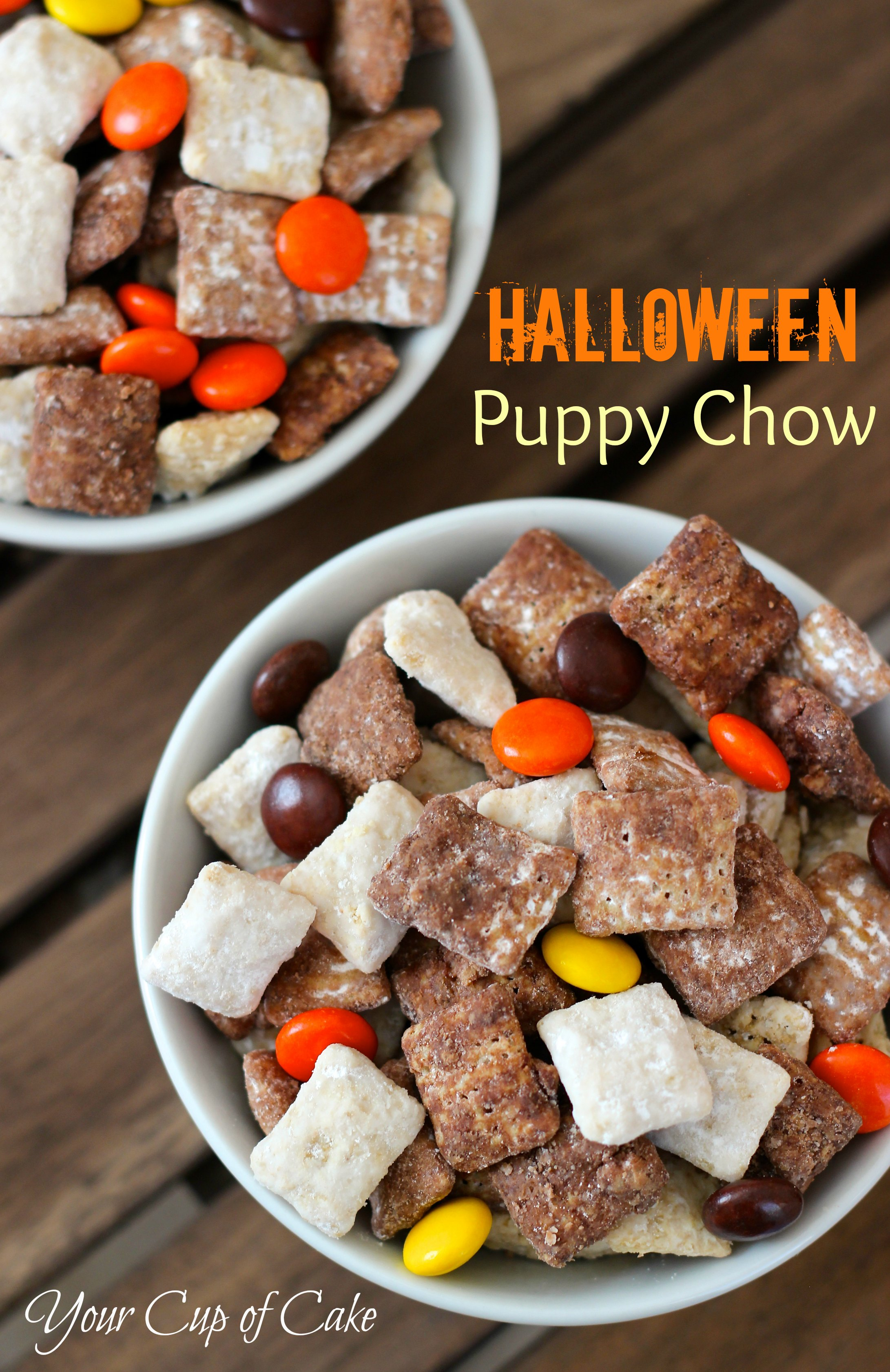 Halloween Puppy Chow Your Cup Of Cake