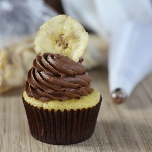 Banana Chocolate Spice Cupcakes
