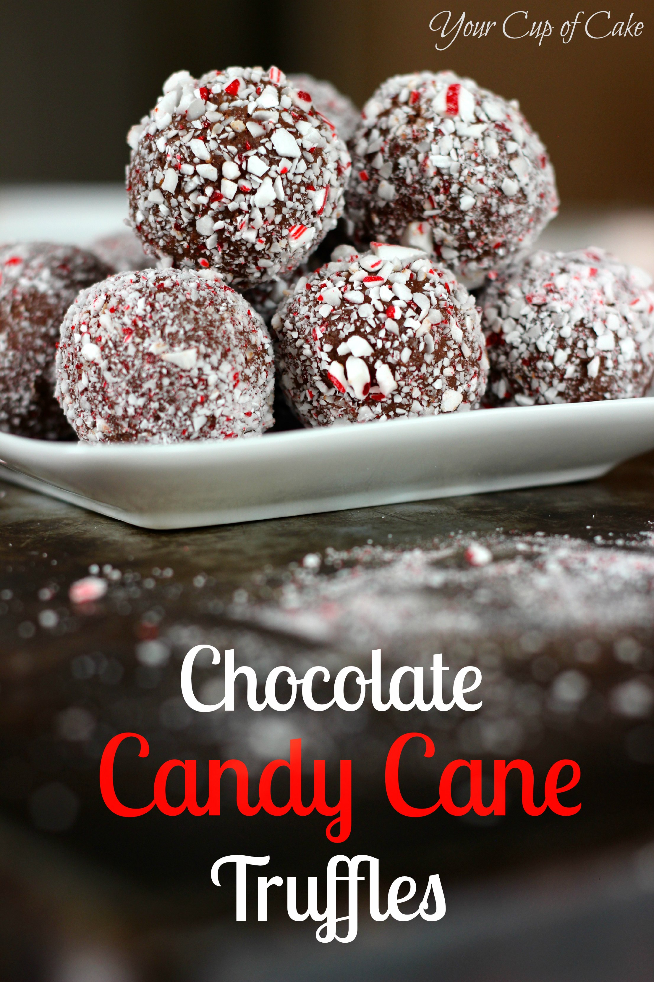 Chocolate candy canes