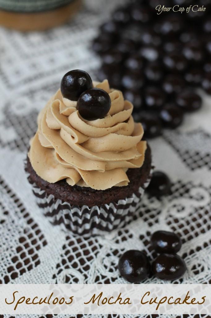 Speculoos Mocha Cupcake
