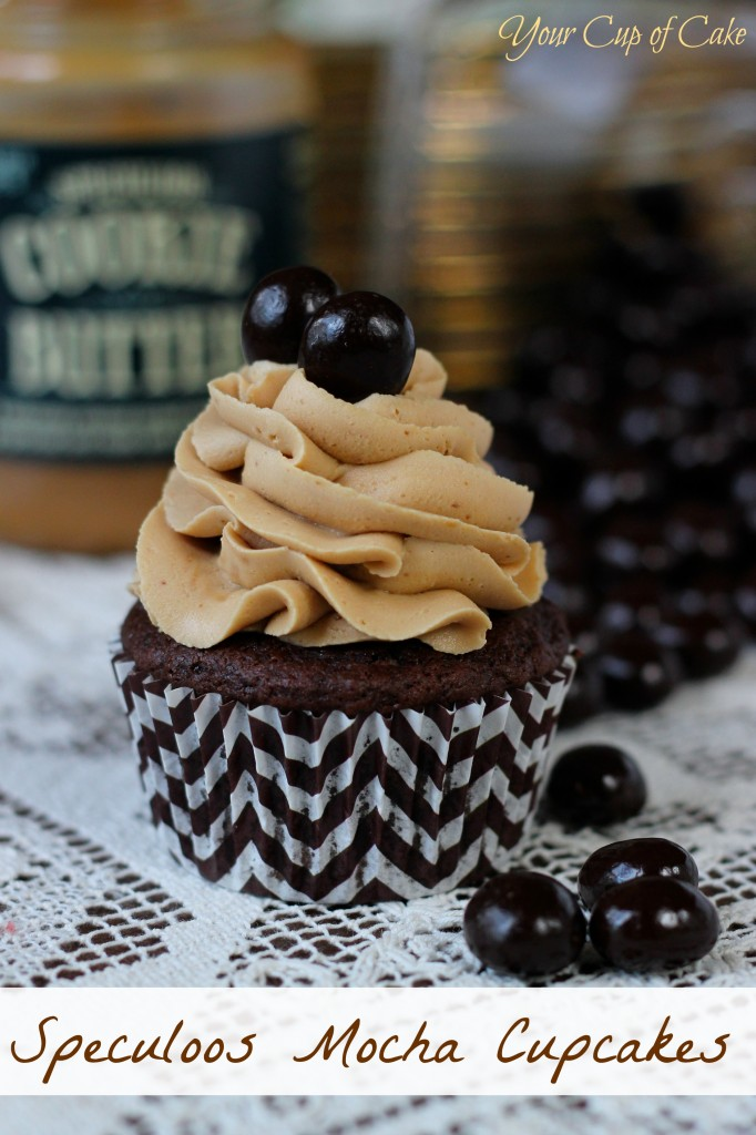 Speculoos Mocha Cupcakes
