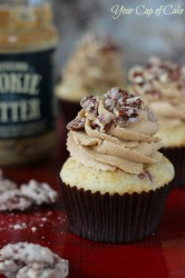 Speculoos Pecan Cupcakes