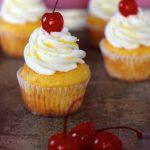 Pineapple Cream Cupcakes