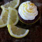 Chocolate Lemon Cupcake