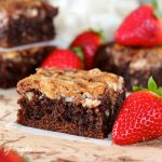 Strawberry Cream Cheese Brownies and Giveaway!!!!