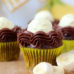 Chocolate Banana Cream Pie Cupcakes