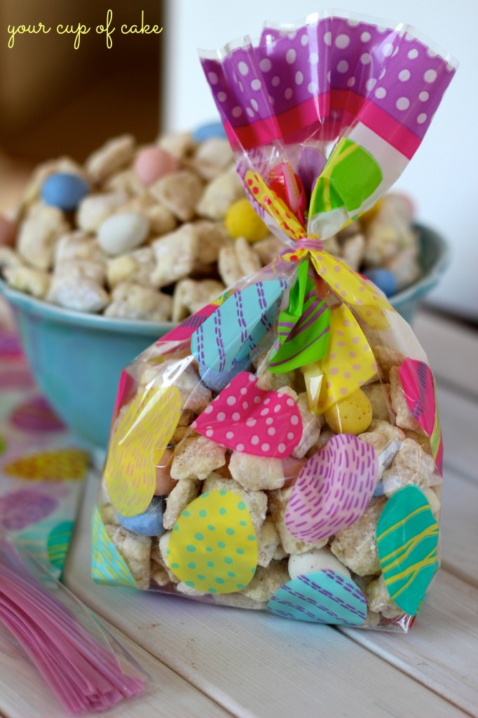 Lemon Cadbury Puppy Chow for Easter