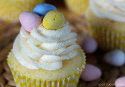 Lemon Mascarpone Cupcake