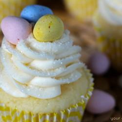 Lemon Mascarpone Cupcake