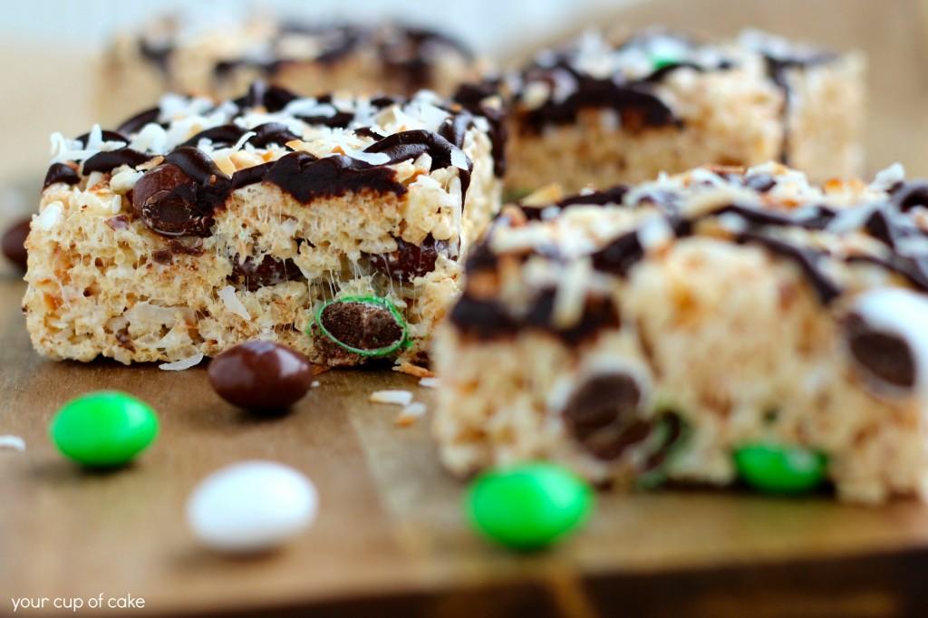 Coconut Rice Crispy Treat Recipe