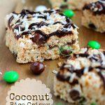 Coconut Rice Crispy Treats