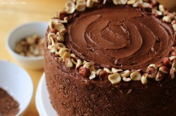 Banana Chocolate Hazelnut Cake recipe