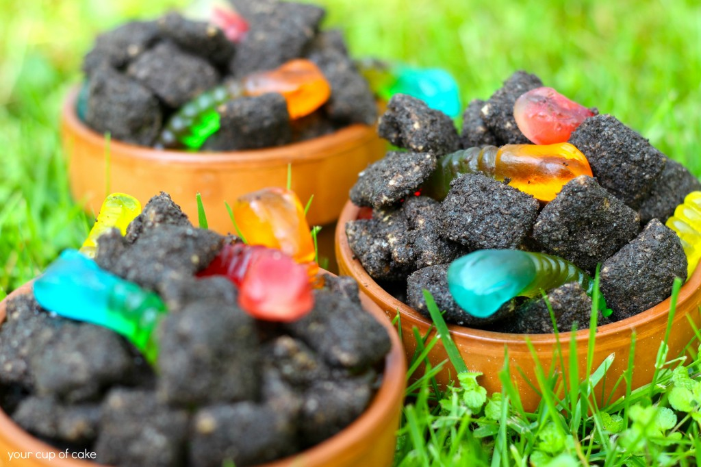 Dirt Puppy Chow recipe