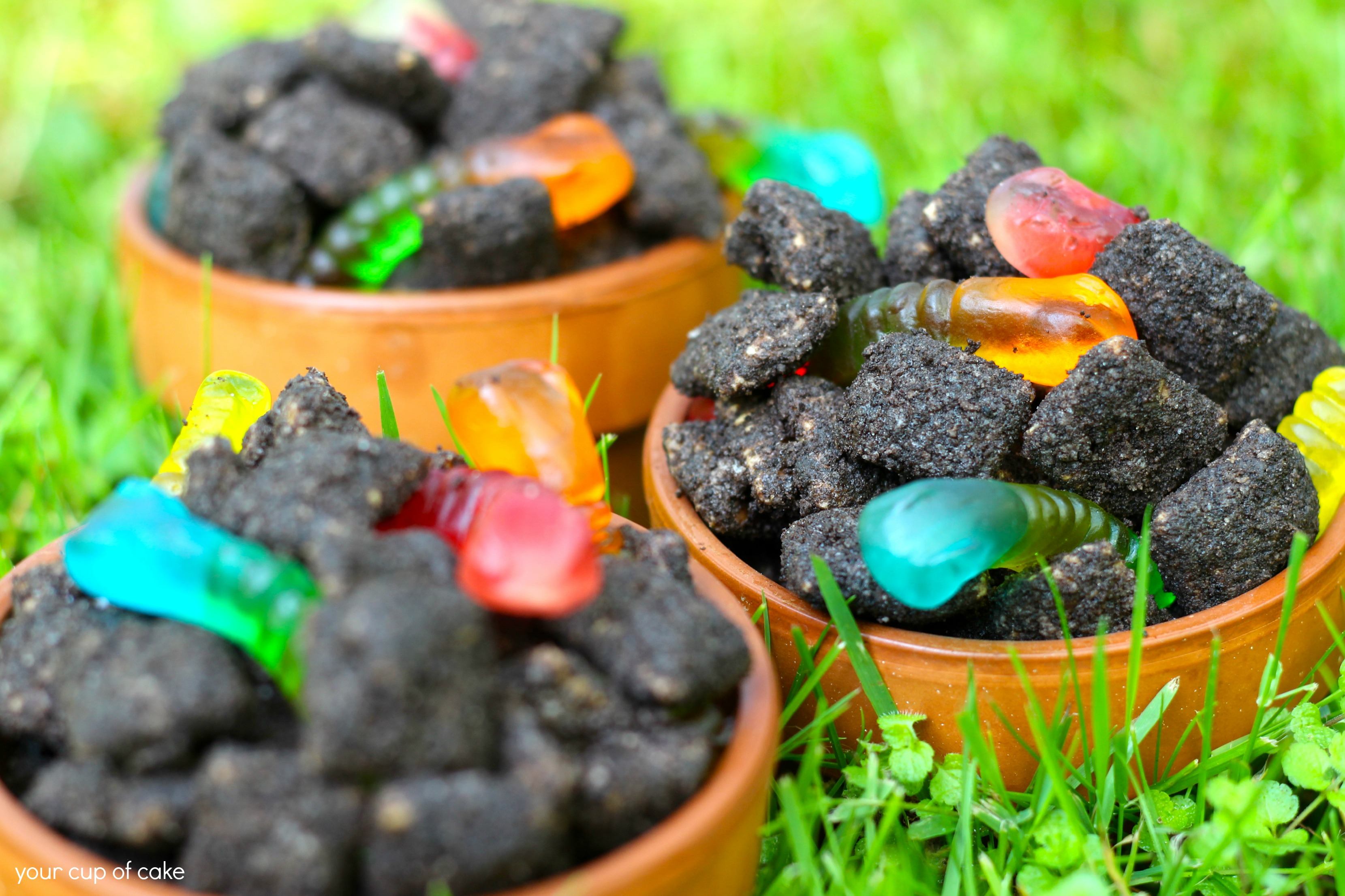Dirt Puppy Chow Your Cup of Cake