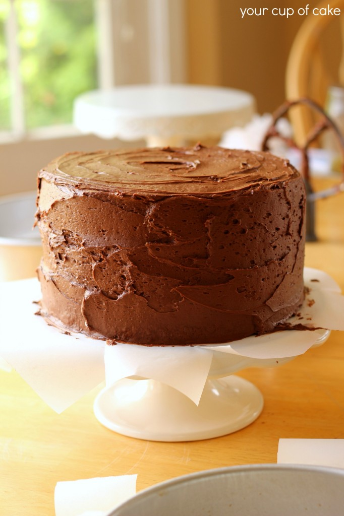 Frosted 3 Layer cake