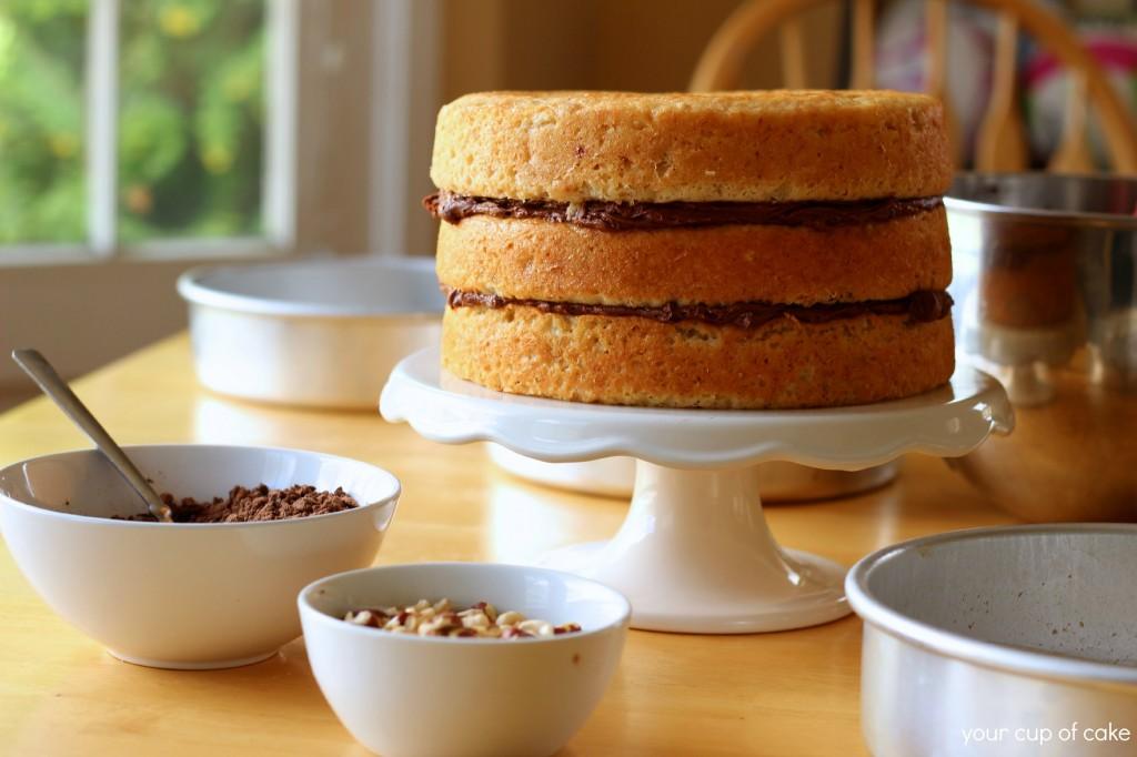 Making a 3 Layer cake