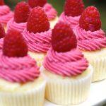 Raspberry Lemonade Mini Cupcakes